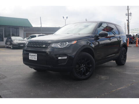 2016 Land Rover Discovery Sport for sale at Maroney Auto Sales in Humble TX
