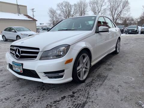 2014 Mercedes-Benz C-Class for sale at MIDWEST CAR SEARCH in Fridley MN