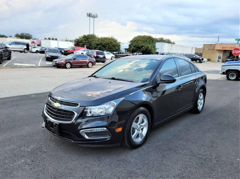 2015 Chevrolet Cruze for sale at Image Auto Sales in Dallas TX