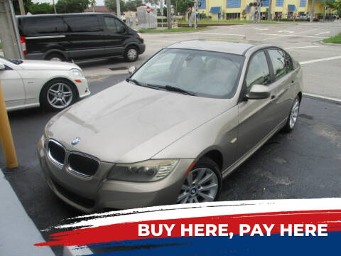 2011 BMW 3 Series for sale at K & V AUTO SALES LLC in Hollywood FL