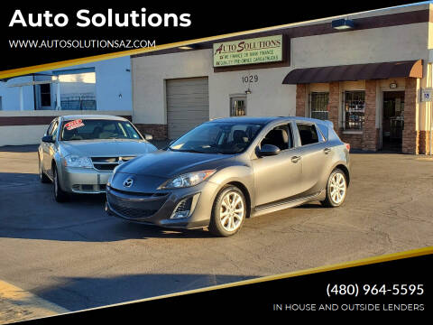 2011 Mazda MAZDA3 for sale at Auto Solutions in Mesa AZ