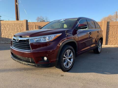 2015 Toyota Highlander for sale at Berge Auto in Orem UT