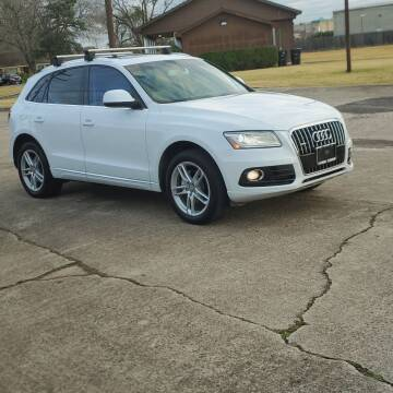 2014 Audi Q5 for sale at MOTORSPORTS IMPORTS in Houston TX