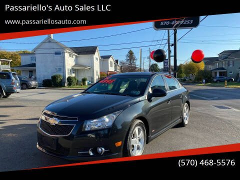 2012 Chevrolet Cruze for sale at Passariello's Auto Sales LLC in Old Forge PA