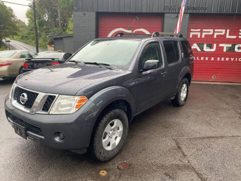 2012 Nissan Pathfinder for sale at Apple Auto Sales Inc in Camillus NY
