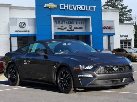 2019 Ford Mustang for sale at PHIL SMITH AUTOMOTIVE GROUP - SOUTHERN PINES GM in Southern Pines NC