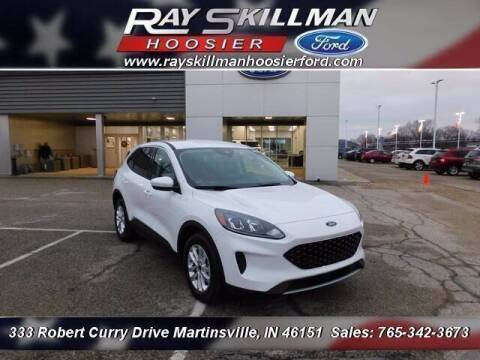 2021 Ford Escape Hybrid for sale at Ray Skillman Hoosier Ford in Martinsville IN