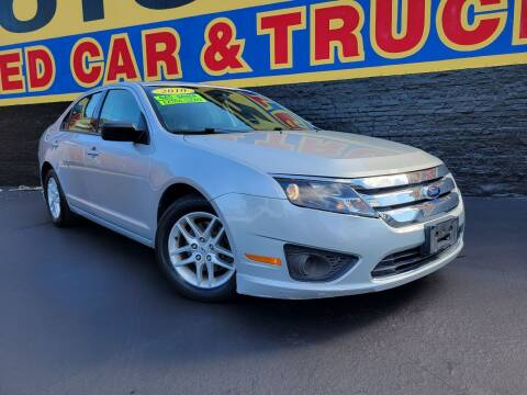 2010 Ford Fusion for sale at B & R Motor Sales in Chicago IL