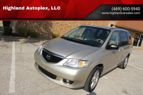 2003 Mazda MPV for sale at Highland Autoplex, LLC in Dallas TX