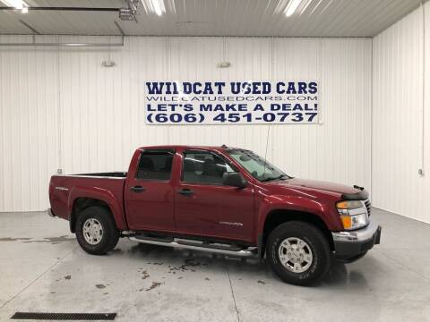 2005 GMC Canyon for sale at Wildcat Used Cars in Somerset KY