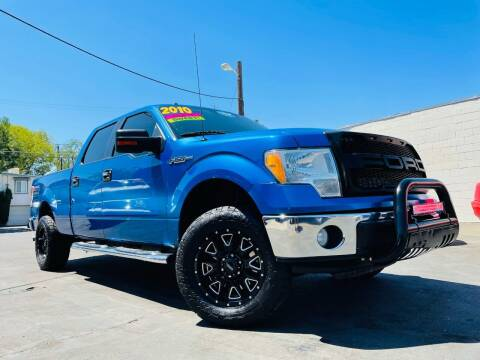 2010 Ford F-150 for sale at Alpha AutoSports in Roseville CA