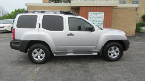 2009 Nissan Xterra for sale at LENTZ USED VEHICLES INC in Waldo WI