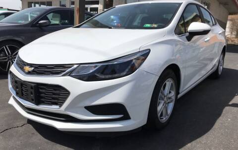2016 Chevrolet Cruze for sale at Red Top Auto Sales in Scranton PA