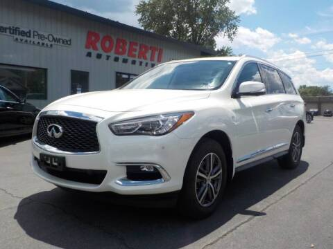 2017 Infiniti QX60 for sale at Roberti Automotive in Kingston NY