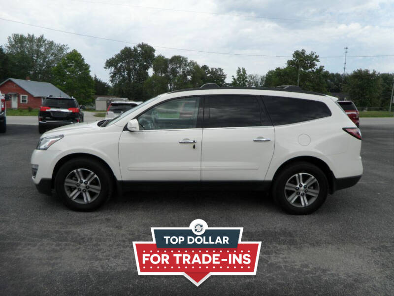 2015 Chevrolet Traverse for sale at CARSON MOTORS in Cloverdale IN