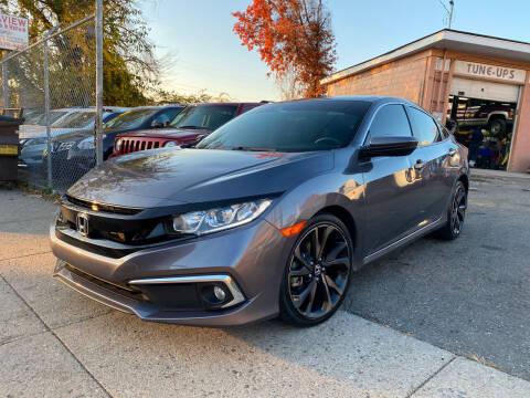 2019 Honda Civic for sale at Seaview Motors and Repair LLC in Bridgeport CT