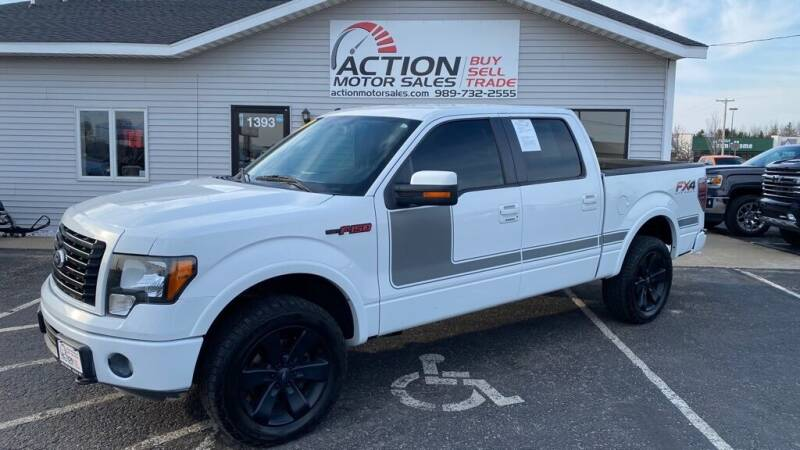 2012 Ford F-150 for sale at Action Motor Sales in Gaylord MI