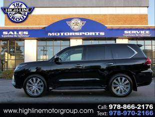 2017 Lexus LX 570 for sale at Highline Group Motorsports in Lowell MA
