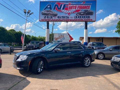 2018 Chrysler 300 for sale at ANF AUTO FINANCE in Houston TX