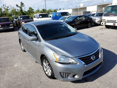 2013 Nissan Sentra for sale at Jamrock Auto Sales of Panama City in Panama City FL