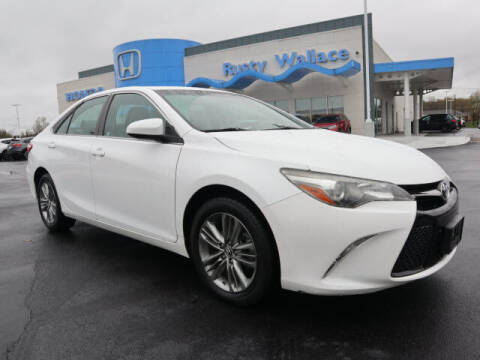 2016 Toyota Camry for sale at RUSTY WALLACE HONDA in Knoxville TN