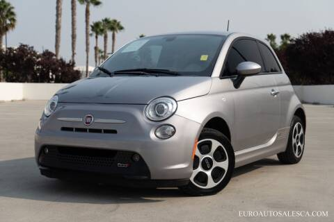 2017 FIAT 500e for sale at Euro Auto Sales in Santa Clara CA
