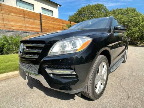 2012 Mercedes-Benz M-Class for sale at Carz Of Texas Auto Sales in San Antonio TX