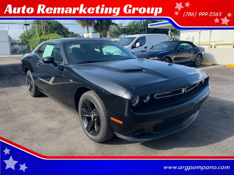 2019 Dodge Challenger for sale at Auto Remarketing Group in Pompano Beach FL
