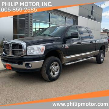 2008 Dodge Ram Pickup 2500 for sale at Philip Motor Inc in Philip SD