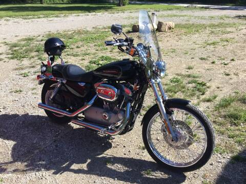 2009 HARLEY XL883C for sale at Mobile-tronics Auto Sales in Kenockee MI