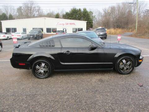 2006 Ford Mustang for sale at Hickory Wholesale Cars Inc in Newton NC