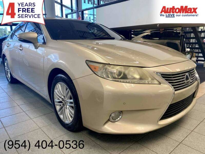 2013 Lexus ES 350 for sale at Auto Max in Hollywood FL
