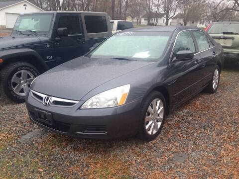 2006 Honda Accord for sale at Venable & Son Auto Sales in Walnut Cove NC
