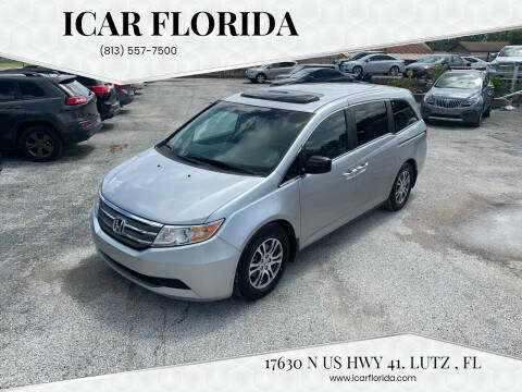 2012 Honda Odyssey for sale at ICar Florida in Lutz FL