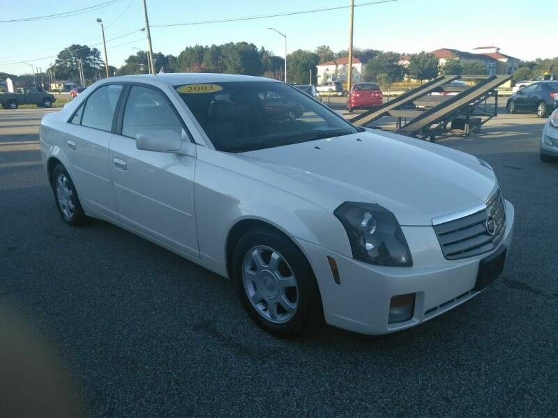 2003 Cadillac CTS for sale at Kelly & Kelly Supermarket of Cars in Fayetteville NC