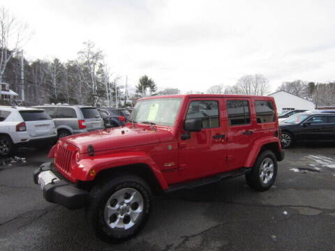 2014 Jeep Wrangler Unlimited for sale at Auto Choice of Middleton in Middleton MA