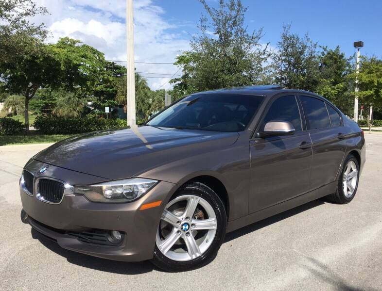 2015 BMW 3 Series for sale at FIRST FLORIDA MOTOR SPORTS in Pompano Beach FL