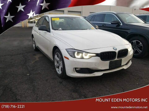 2014 BMW 3 Series for sale at MOUNT EDEN MOTORS INC in Bronx NY