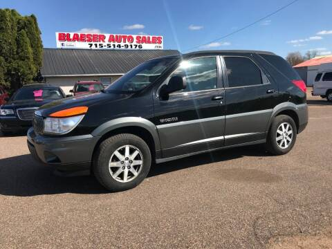 2002 Buick Rendezvous for sale at BLAESER AUTO LLC in Chippewa Falls WI