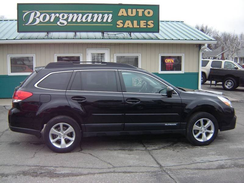 2014 Subaru Outback for sale at Borgmann Auto Sales in Norfolk NE