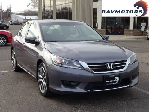 2015 Honda Accord for sale at RAVMOTORS 2 in Crystal MN