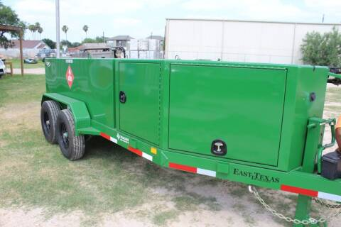 2020 East Texas Diesel Tank for sale at J IV Trailers in Donna TX