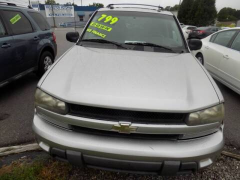 2005 Chevrolet TrailBlazer for sale at Pro-Motion Motor Co in Lincolnton NC
