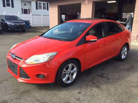 2014 Ford Focus for sale at Pat's Auto Sales, Inc. in West Springfield MA