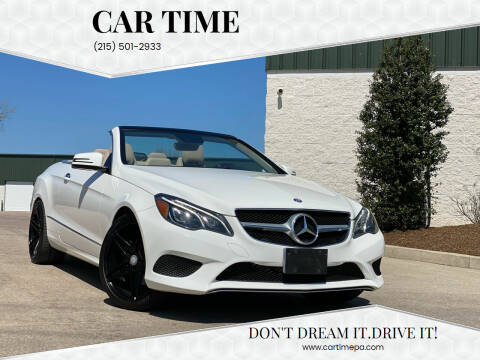 2014 Mercedes-Benz E-Class for sale at Car Time in Philadelphia PA