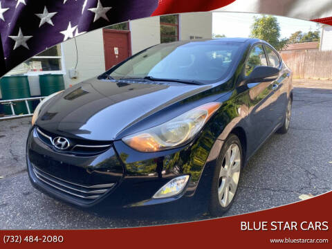 2011 Hyundai Elantra for sale at Blue Star Cars in Jamesburg NJ