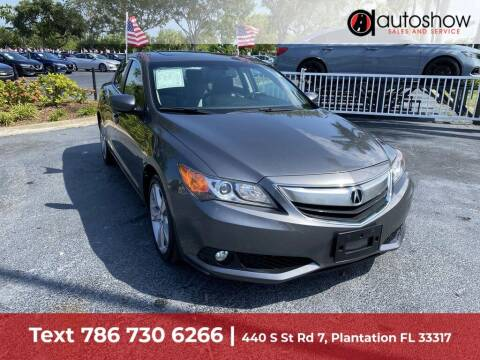 2013 Acura ILX for sale at AUTOSHOW SALES & SERVICE in Plantation FL