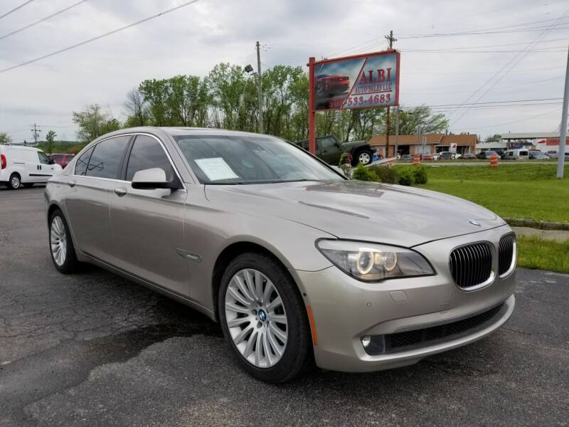 2012 BMW 7 Series for sale at Albi Auto Sales LLC in Louisville KY