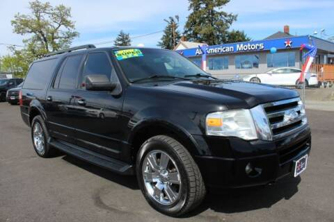 2009 Ford Expedition EL for sale at All American Motors in Tacoma WA