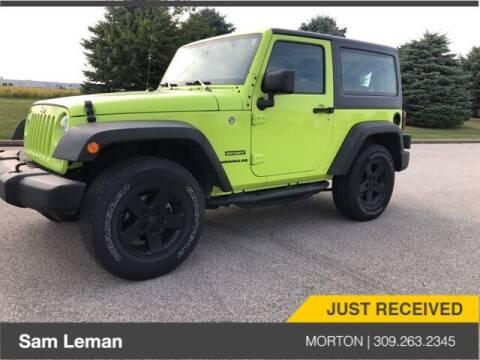 2017 Jeep Wrangler for sale at Sam Leman CDJRF Morton in Morton IL